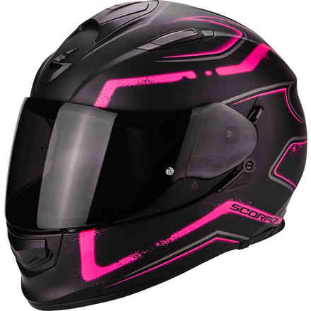 Helm Exo-510 Air Radium rosa Scorpion