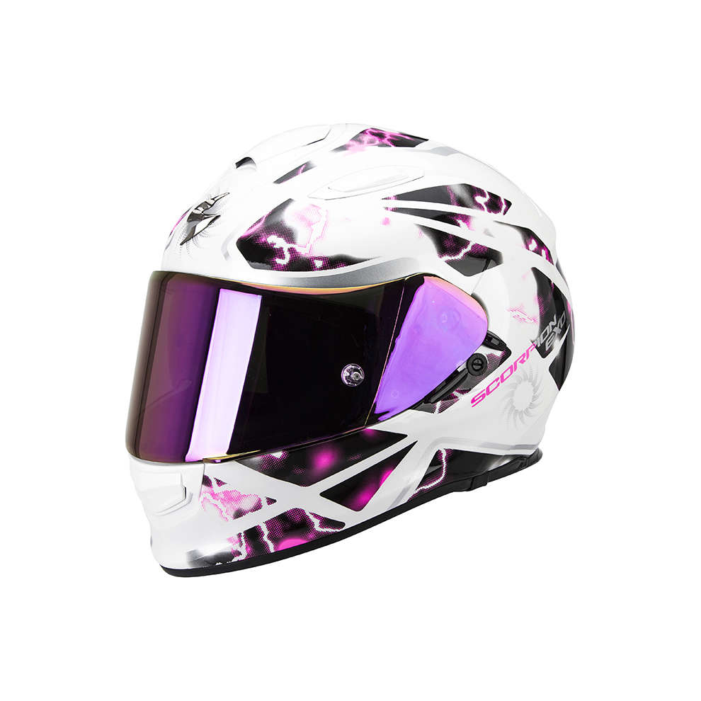 Helm Exo -510 Air Xena weiß-rosa Scorpion