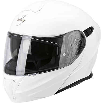Helm Exo-920 Solid weiß Scorpion