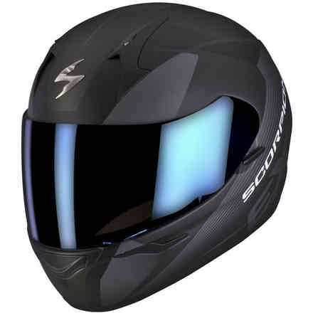 Helm Exo410 Air Slicer  Schwarz Flat Grau Scorpion