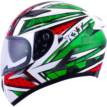 Helm Falcon All Stars Rot Grune KYT