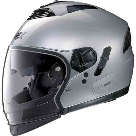 Helm G4.2pro Kinetic N-Com Metal Silber Grex