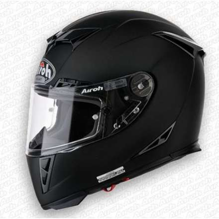 Helm Gp500 Color Black Matt Airoh