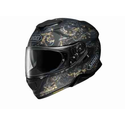 Helm Gt-Air II Conjure Tc-9 Gold Shoei