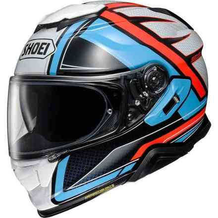 Helm Gt-Air II Haste Blau Shoei