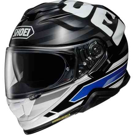Helm Gt-Air II Insignia Tc-2 Blau Shoei