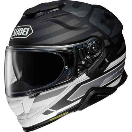 Helm Gt-Air Ii Insignia Tc-5 Schwraz Grau Shoei