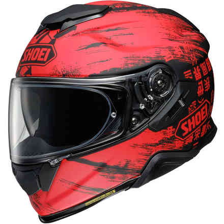 Helm Gt-Air II Ogre Rot Shoei