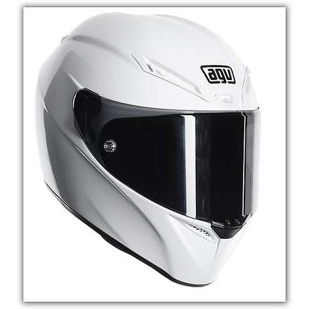 Helm Gt-Veloce Mono Weiss Agv