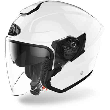 Helm H.20 Color weiß Gloss Airoh