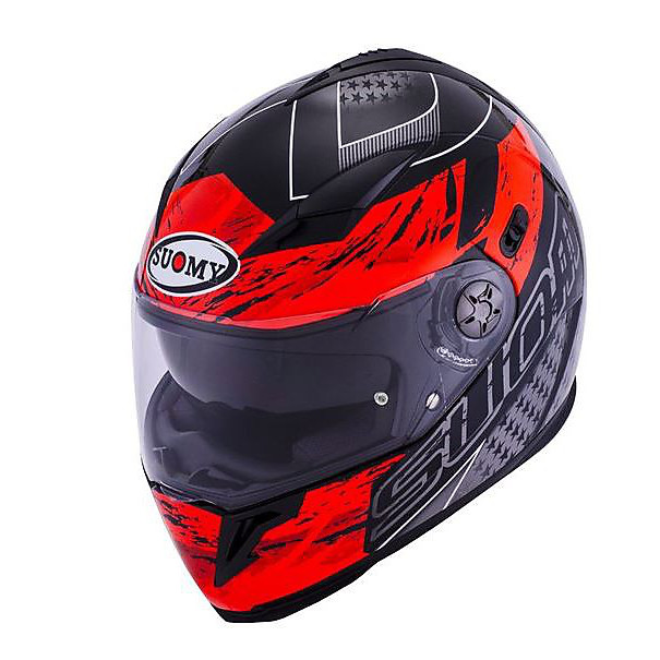 Helm Halo Drift red Suomy