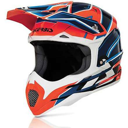 Helm Impact 2016 orange Acerbis