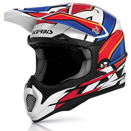 Helm Impact 2016 Rot Acerbis