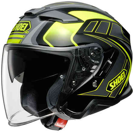 Helm J-Cruise 2 Aglero Gelb Shoei