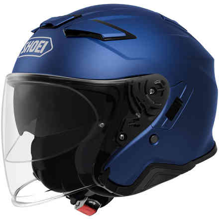 Helm J-Cruise 2 Matt Blau Metal Shoei