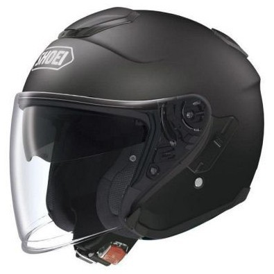 Helm J-Cruise Matt Black Shoei