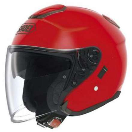Helm J-Cruise Shine Red Shoei