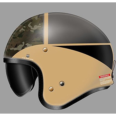 Helm J-O Seafire TC-10 Shoei