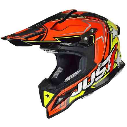 Helm J12 Aster Orange-Gelb Just1