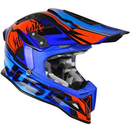 Helm J12 Dominator Blue/Red Just1