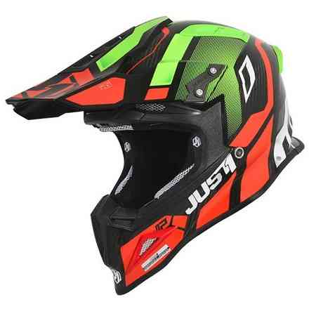 Helm J12 Vector Rot / Lime / Carbon Just1