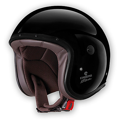 Helm Jet Freeride black painted Caberg