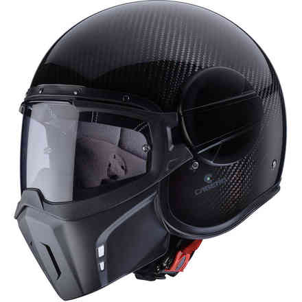 Helm Jet Ghost Carbon Caberg