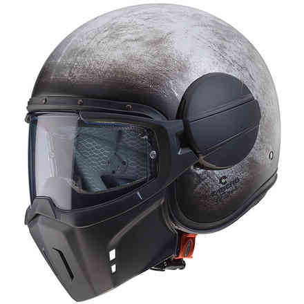 Helm Jet Ghost Iron Caberg