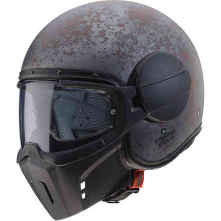 Helm Jet Ghost Rusty Caberg