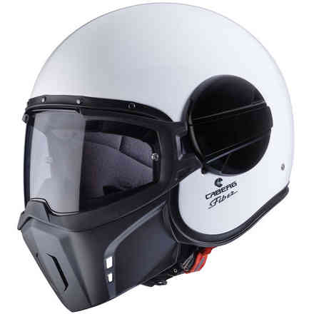 Helm Jet Ghost Weiss Caberg