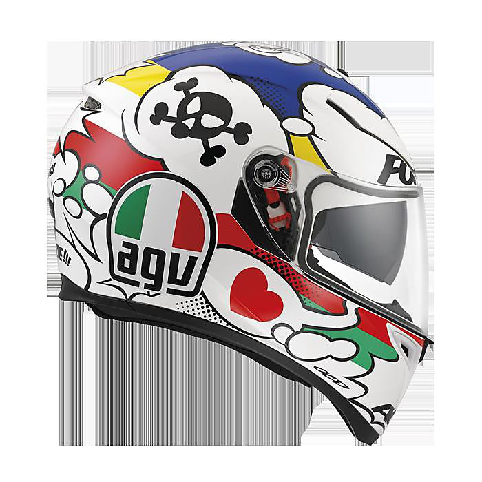 HELM K-3 SV Comic Agv