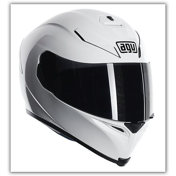 Helm K-5 Mono Weiss Agv