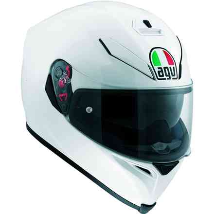 Helm K-5 S Mono Weiss Agv