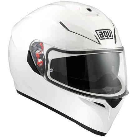 Helm K3 Sv Solid Weiss Agv