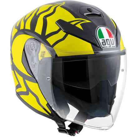 Helm K5 Jet Winter Test 2011 Agv