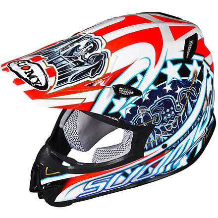 Helm Mr Jump Eagle White Suomy