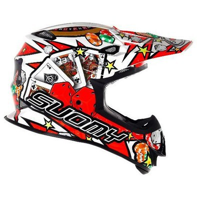 Helm Mr Jump Jackpot White Suomy