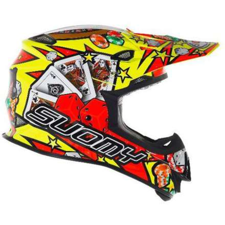Helm Mr Jump Jackpot Yellow Suomy