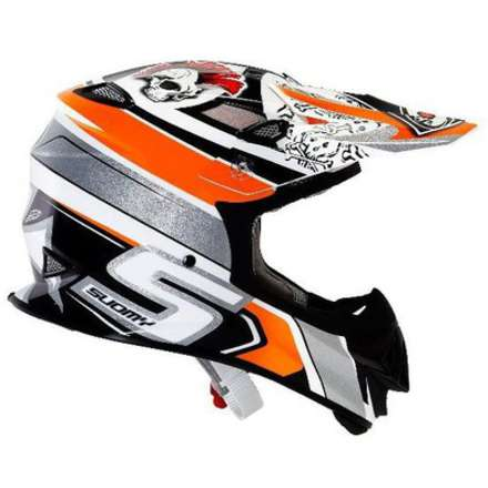 Helm Mr Jump Lazyboy Orange Suomy