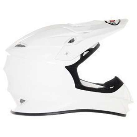 Helm Mr Jump Plain White Suomy