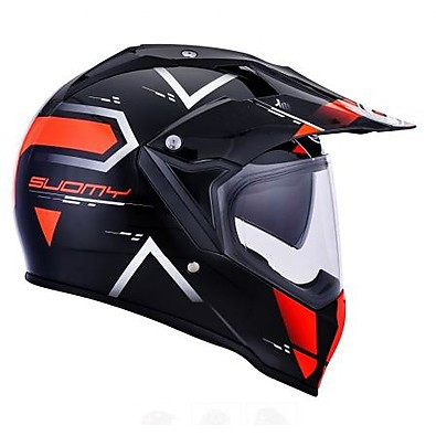 Helm Mx Tourer Road orange Suomy
