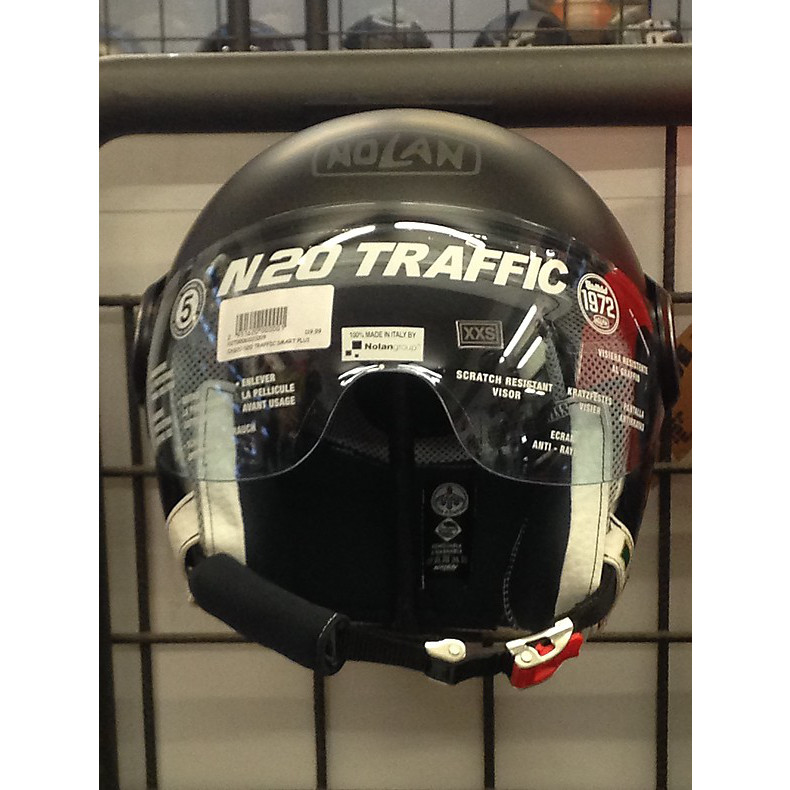 Helm N 20 Traffic Smart Plus Schwarz Nolan