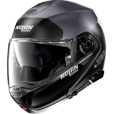 Helm N100-5 Plus Distinctive Flat Lava Grau Nolan