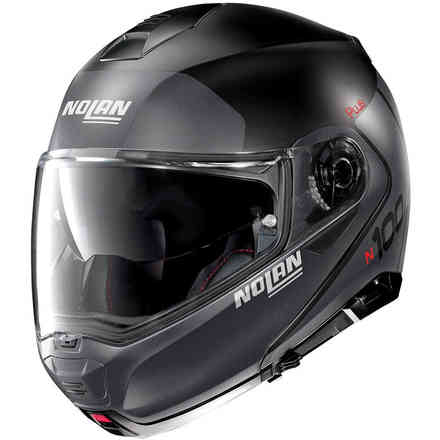 Helm N100-5 Plus Distinctive Flat Schwarz Nolan