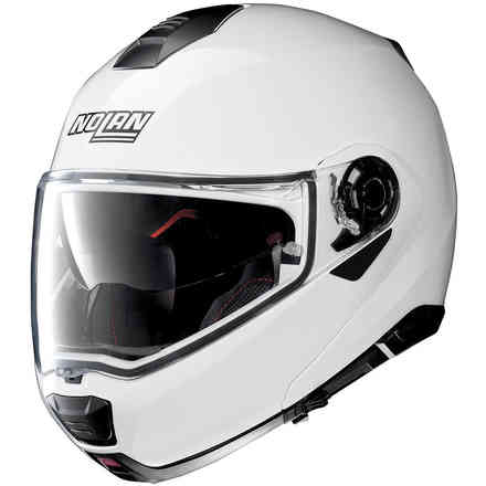 Helm N100-5 Special N-Com Pure Weiss Nolan