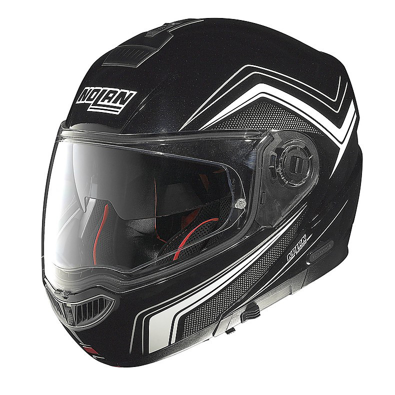 Helm N104 Absolute Como N-Com metal black Nolan