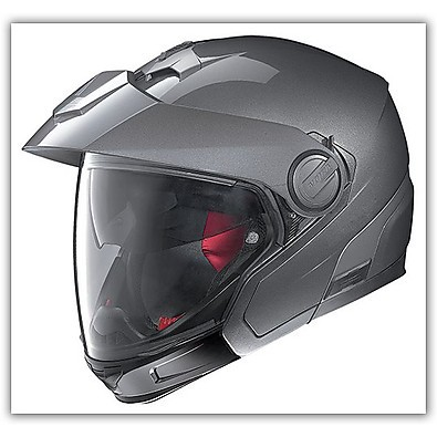 Helm N40 Full Classic Plus Lava Grey N-com Nolan