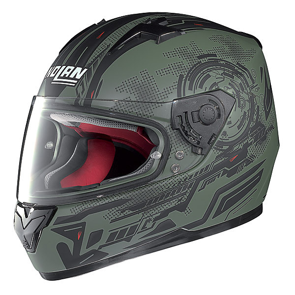 Helm N64 Next Flat Military Green Nolan