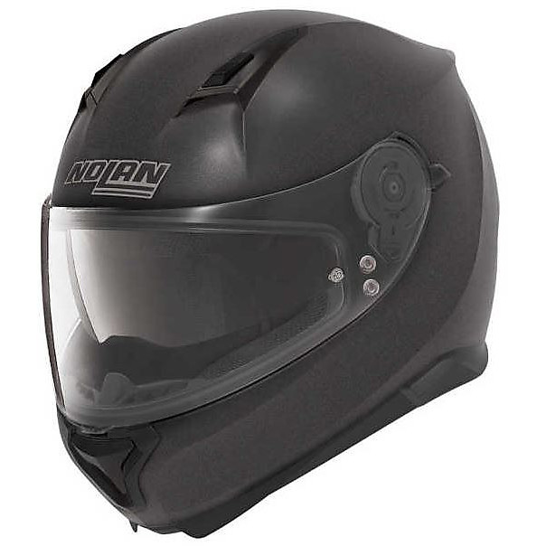 Helm N87 Rapid N-com black graphite Nolan