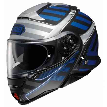 Helm Neotec II Splicer Tc-2 Blue Shoei